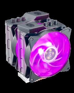 Disipador de Aire Cooler Master MasterAir MA620P (AMD-INTEL, RGB, Alto 165mm)