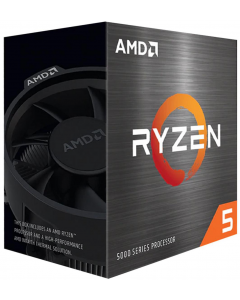 Procesador AMD Ryzen 5 5600X (AM4, 6 Cores, 12 Hilos, 3.7/4.6GHz, DDR4, Con Disipador)