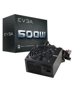Fuente de Poder EVGA 600W W1, Certificada 80+ White Plus