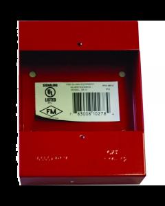 Notifier - Caja posterior para Palancas notifier