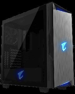 Gabinete AORUS C300 GLASS - Torre - ATX - sin fuente de alimentación (ATX) - negro