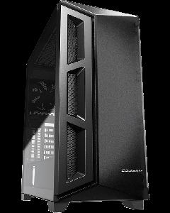 Gabinete Cougar DarkBlader X5 - placa ATX extendida - sin fuente de alimentación - negro translúcido - USB/Audio