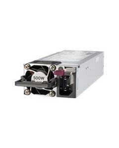 HPE - fuente de alimentación - conectable en caliente / redundante - 500 vatios - 563 VA