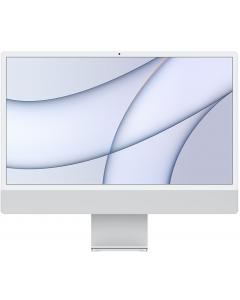 "Apple iMac Retina 4.5K 24"", Chip M1, Ram 8GB, Almacenamiento 256GB, Silver"