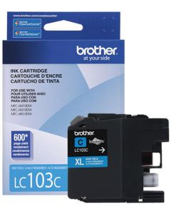 Cartucho de tinta Brother Cian LC-103C