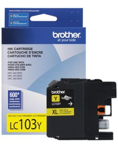 Tinta Brother LC103Y Amarillo