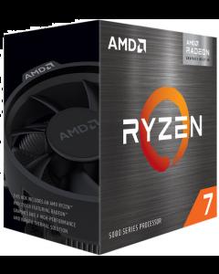 Procesador AMD Ryzen 7 5700G, 8-Core, 3,8Ghz (Max boost 4.6Ghz), Socket AM4, Radeon Vega Graphics