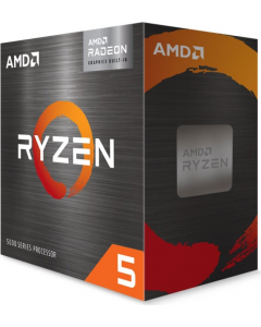 Procesador AMD Ryzen 5 5600G, 6-Core, 3,6Ghz (Max Boost 4,4Ghz), Socket AM4, Radeon Vega Graphics