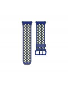 Fitbit Ionic correa perforada sport Azul / Amarillo - Small