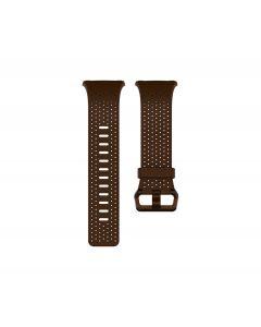 Pulsera de Cuero Fitbit para Reloj Iónico (Pequeño, Coñac)