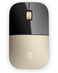 Mouse HP Z3700 Inalámbrico color oro