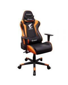 Silla Gamer Profesional GIGABYTE AORUS AGC300 Negro/Naranja