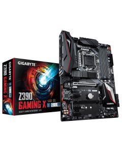 Placa Madre GIGABYTE Z390 Gaming X LGA 1151-v2 (8va y 9na Gen) Z390 HDMI SATA 6Gb/s USB 3.1 ATX