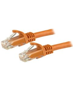 Cable 3m Ethernet Cat6 Snagless Naranja