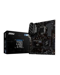 Placa Madre MSI Z390-A PRO - ATX - LGA1151 | Z390 - USB 3.1 Gen 1, USB-C Gen2, USB 3.1 Gen 2 - Gigabit LAN - HD Audio (8-canales)