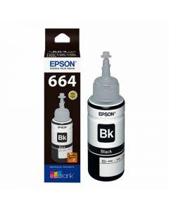 Botella Tinta Epson Negra (T664120-AL) L110/L120/L210/L355/L555/L1300