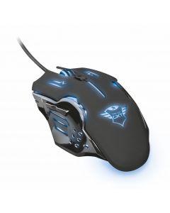 Mouse Gamer Trust GXT 108 Rava Illuminated, Botón de selección de velocidad, 6 botones