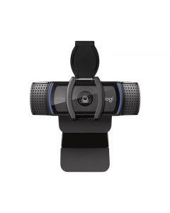 Webcam Logitech C920S Pro HD 1080p, tapa de obturador, microfono
