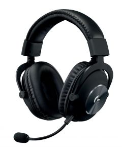 Audífonos con micrófono Logitech PRO para juegos, Micrófono extraíble