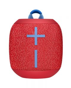 Parlante Wireless Bluetooth UE Wonderboom 2, impermeable, Color Rojo