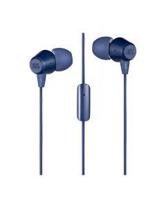Audífono JBL C50HI, cableado, interno, azul