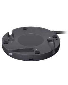 Logitech Rally Mic Pod Hub - Adaptador de interfaz de micrófono