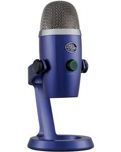 Micrófono USB Blue Yeti Nano Premium, Grabación y transmisión, Plug & Play, Blue