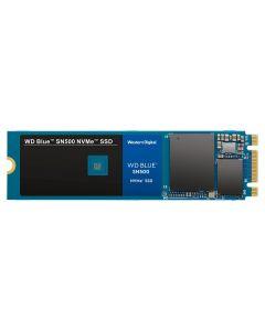 Unidad SSD WD Blue SN550, 500GB, NVMe M.2, Lec 2400 MB / s, Esc 1750 MB / s, PCIe Gen 3