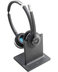 Auriculares Cisco 562, Stereo, Wireless, On-Ear, incluye Stand, Black