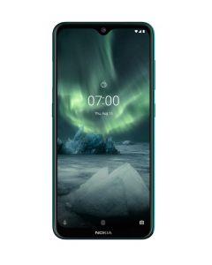 Smartphone Nokia N7.2, Android, Verde