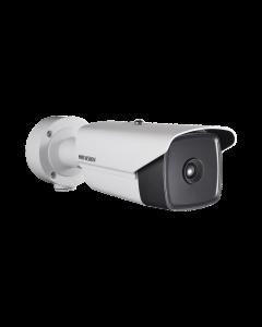 Cámara IP Térmica Hikvision DS-2TD2137-25/V1, Lente 25mm, Detección Temperatura, PoE+, IP66
