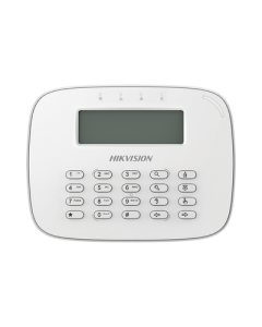 Teclado LCD Alámbrico para Alarmas Hikvision DS-PK-LRT