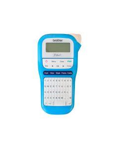Rotuladora electrónica de mano Brother PT-H110, Pantalla LCD, impresión de 20 mm/s