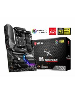 Placa Madre MSI MAG B550 Tomahawk, Socket AM4 AMD Ryzen, B550 SATA 6Gb/s, ATX, DDR4