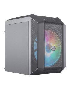 Gabinete Gamer Cooler Master Masterbox H100 ARGB, Ventilador ARGB de 20 cm , Mesh, Mini-ITX