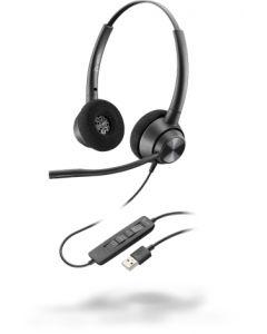 Aúdifono Profesional Poly EncorePro 320, USB-A, Micrófono, Cancelación de Ruido
