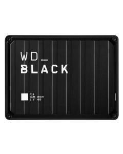 WD_BLACK P10 Game Drive WDBA3A0050BBK - Disco duro - 5 TB - externo (portátil) - USB 3.2 Gen 1 - negro