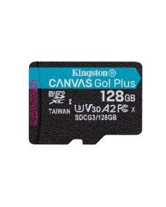 Tarjeta de Memoria Kingston microSDXC Canvas Go Plus, 128GB