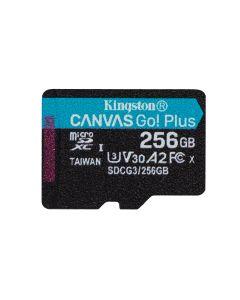 Tarjeta de Memoria Kingston microSDXC Canvas Go Plus, 256GB
