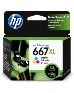 HP - 667XL - Ink cartridge - Tricolor