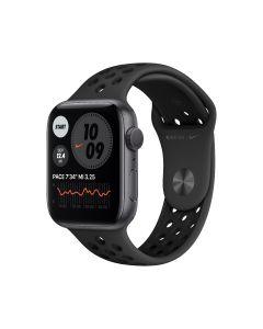 Apple Watch Nike S6 GPS, 44 mm, caja de aluminio gris espacial, correa Nike Sport antracita / negra