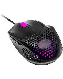 Mouse Gamer Cooler Master MM720, 2 zonas RGB, 16000DPI, Negro Mate