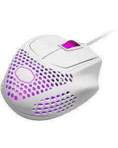 Mouse Gamer Cooler Master MM720, 2 zonas RGB, 16000DPI, Blanco mate