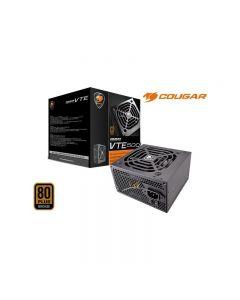 Fuente de Poder Cougar VTE 500W, No Modular, Certificada 80+ Plus Bronze