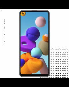 Smartphone Samsung Galaxy A21s, Android 10, Ram 4GB, Almacenamiento 64GB, Black