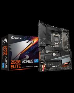 Placa Madre Gigabyte Z590 AORUS ELITE, Socket LGA 1200, DDR4 2133/5400MHz, M.2, Factor ATX