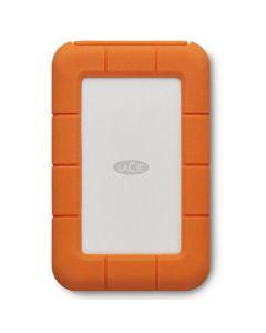 Disco Duro Externo LaCie Rugged Thunderbolt USB-C 2.5'', 5TB, USB C 3.0, Plata/Naranja