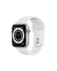 APPLE WATCH S6 40 mm Silver White