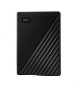 WD My Passport WDBPKJ0040BBK - Disco duro - cifrado - 4 TB - externo (portátil) - USB 3.0 - AES de 256 bits - negro
