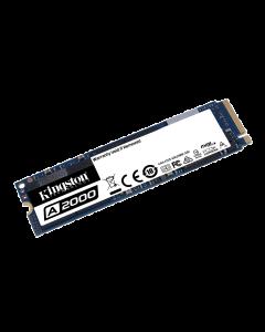 Kingston A2000 - SSD - cifrado - 1 TB - interno - M.2 2280 - PCI Express 3.0 x4 (NVMe) - AES de 256 bits